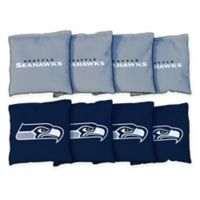 NFL Seattle Seahawks 16 oz. Duck Cloth Cornhole Bean Bags (Set of 8)