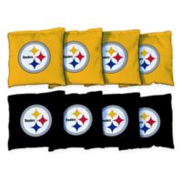 NFL Pittsburgh Steelers 16 oz. Duck Cloth Cornhole Bean Bags (Set of 8)