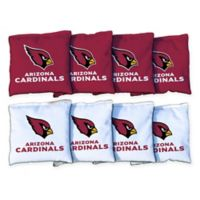 NFL Arizona Cardinals 16 oz. Duck Cloth Cornhole Bean Bags (Set of 8)