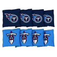 NFL Tennessee Titans 16 oz. Duck Cloth Cornhole Bean Bags (Set of 8)
