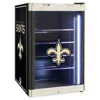 NFL New Orleans Saints 2.5 cu. ft. Beverage Cooler