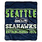 NFL Seattle Seahawks  Balance  Plush Raschel Throw