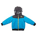 Pacific Trail® Size 18M Reversible Quilted Hooded Jacket in Bright Blue