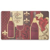 Chef Gear Vino Gelness 18-Inch x 30-Inch Anti-Fatigue Kitchen Mat in Red