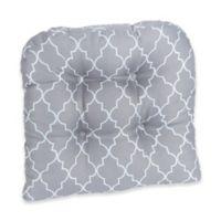Klear Vu Trellis Gripper® Chair Pad in Grey (Set of 2)
