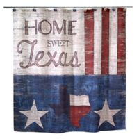 Avanti Home Sweet Texas Shower Curtain