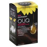 Garnier® Olia® Brilliant Color Permanent Hair Color in 4.15 Dark Soft Mahogany