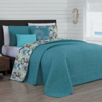 Avondale Manor Surf City Reversible Queen Quilt Set