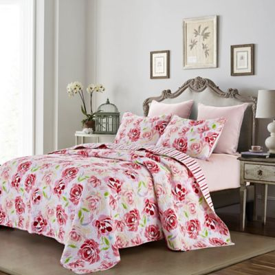Buy Pink Full / Queen Quilt from Bed Bath & Beyond : full quilt sets - Adamdwight.com