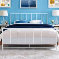 Modway Estate Queen Bed in White