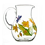 Table Art Lillies Pitcher