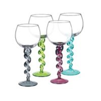 Qualia DNA Balloon Wine Glasses (Set of 4)