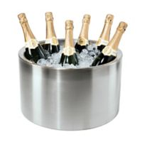 Oggi 12-Bottle Stainless Steel Double Wall Party Tub