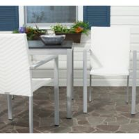 Safavieh Cordova Stacking Armchairs in Off White (Set of 2)