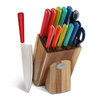 Fiesta® 13-Piece Merengue Multicolor Knife Block Set