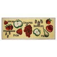 Krug Tossed Fruits Kitchen Runner