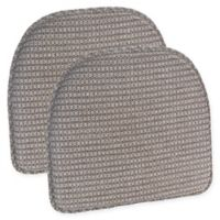 Klear Vu Staten Gripper® Chair Pad in Natural (Set of 2)
