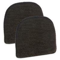 Klear Vu Staten Gripper® Chair Pad in Hershey (Set of 2)