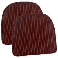Klear Vu Nakita Gripper® Chair Pads in Red (Set of 2)