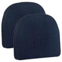 Klear Vu Nakita Gripper® Chair Pads in Navy (Set of 2)