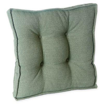 Klear Vu Saturn Square Gripper® Chair Pad In Celadon (Set Of 2)