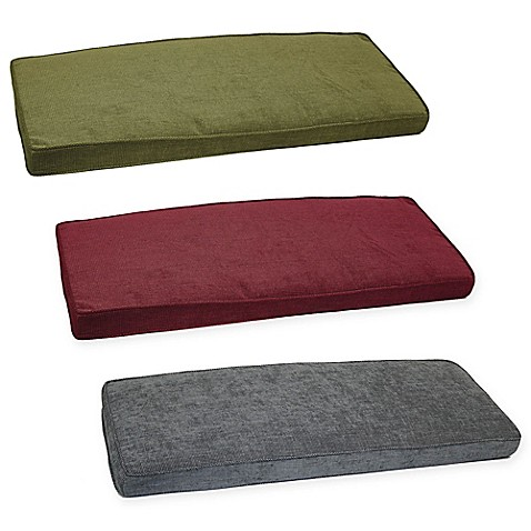 Jordan bench cushion bed bath beyond for Bed bath beyond gel seat cushion