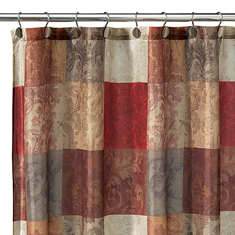 Tuscany Fabric Shower Curtain - Bed Bath & Beyond
