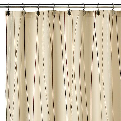 String Vine Fabric Shower Curtain 100 Cotton