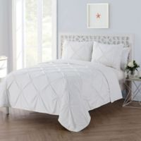 VCNY Home Floral Burst Twin/Twin XL Quilt Set in White