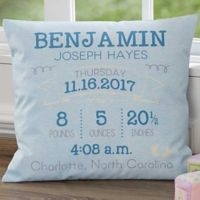 """I am Special"" 18-Inch Square Throw Pillow"