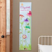 Flowers and Butterflies Growth Chart