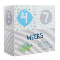 Little Me® Tiny Dino Age Décor Blocks in Green