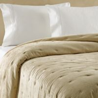 Wamsutta® Vintage Tufted Velvet Full/Queen Coverlet in Gold