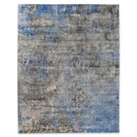 Exquisite Rugs Koda 8-Foot x 10-Foot Are Rug in Silver