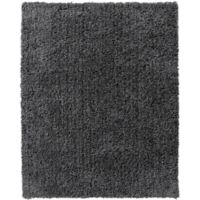 VCNY Home Milo 8-Foot x 10-Foot Shag Area Rug in Charcoal