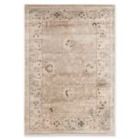 Safavieh Vintage Mercedes Floral 3-Foot 3-Inch x 5-Foot 3-Inch Area Rug in Light Grey/Ivory