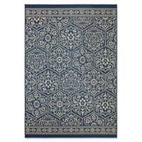 Mohawk Home Oasis Nauset 5-Foot 3-Inch x 7-Foot 6-Inch Area Rug in Navy