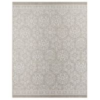 Mohawk Home Oasis Nauset 8-Foot x 10-Foot Area Rug in Silver