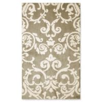 Laura Ashley® Halstead Knit 4-Foot x 6-Foot Area Rug in Taupe