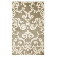 Laura Ashley® Halstead Knit 5-Foot x 8-Foot Area Rug in Taupe