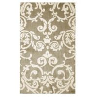 Laura Ashley® Halstead Knit 8-Foot x 11-Foot Area Rug in Taupe