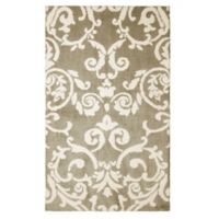 Laura Ashley® Halstead Knit 2-Foot x 3-Foot Accent Rug in Taupe