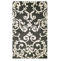 Laura Ashley® Halstead Knit 2-Foot 3-Inch x 3-Foot 9-Inch Accent Rug in Grey