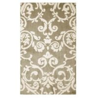Laura Ashley® Halstead Knit 2-Foot x 4-Foot Accent Rug in Taupe
