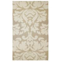 Laura Ashley® Kent Knit 4-Foot x 6-Foot Area Rug in Taupe