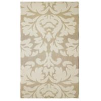Laura Ashley® Kent Knit 5-Foot x 8-Foot Area Rug in Taupe