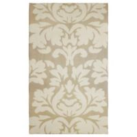 Laura Ashley® Kent Knit 2-Foot 3-Inch x 3-Foot 9-Inch Accent Rug in Taupe