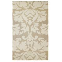 Laura Ashley® Kent Knit 2-Foot x 4-Foot Accent Rug in Taupe