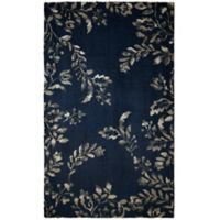 Laura Ashley® Winchester 4-Foot x 6-Foot Area Rug in Navy