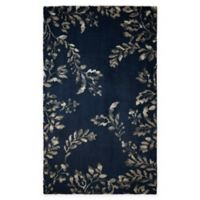 Laura Ashley® Winchester 5-Foot x 8-Foot Area Rug in Navy